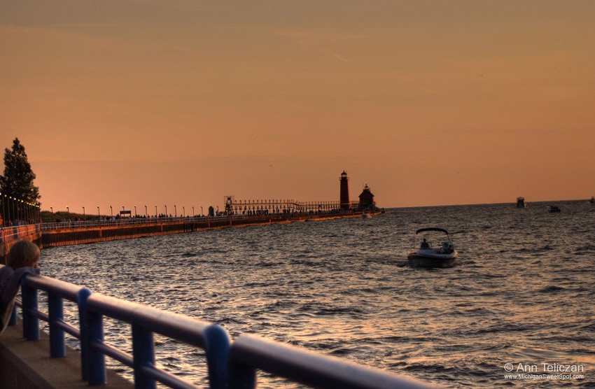 Sunset Memories in Grand Haven