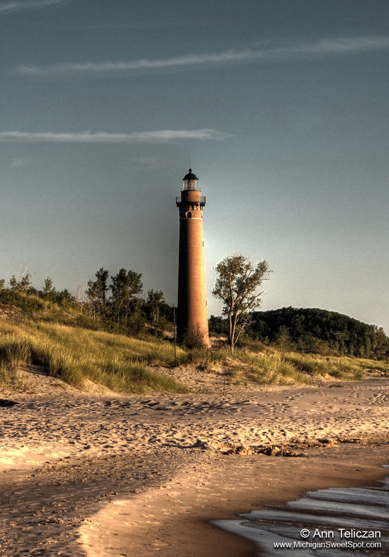 Little Point Sable Lighthouse (circa 1874)