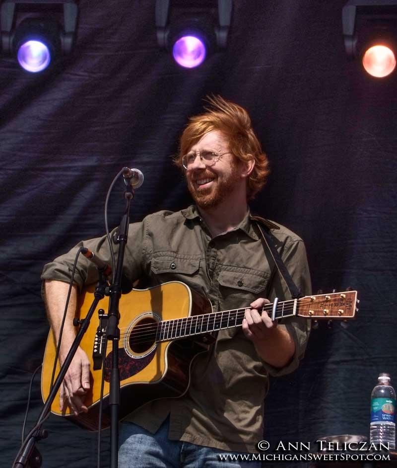 Trey Anastasio of Phish at Rothbury Music Festival