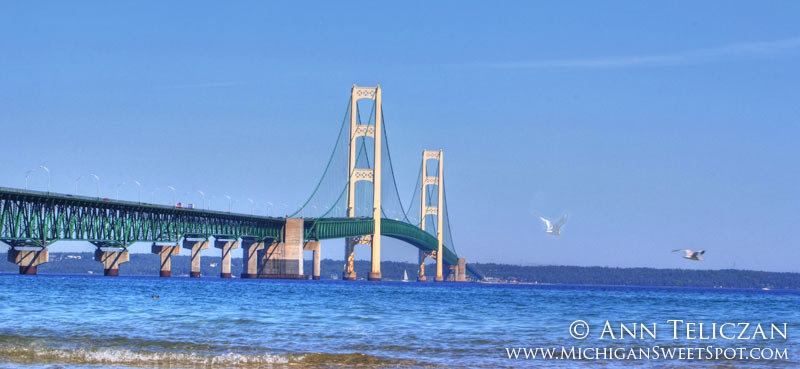 The Mackinac Bridge
