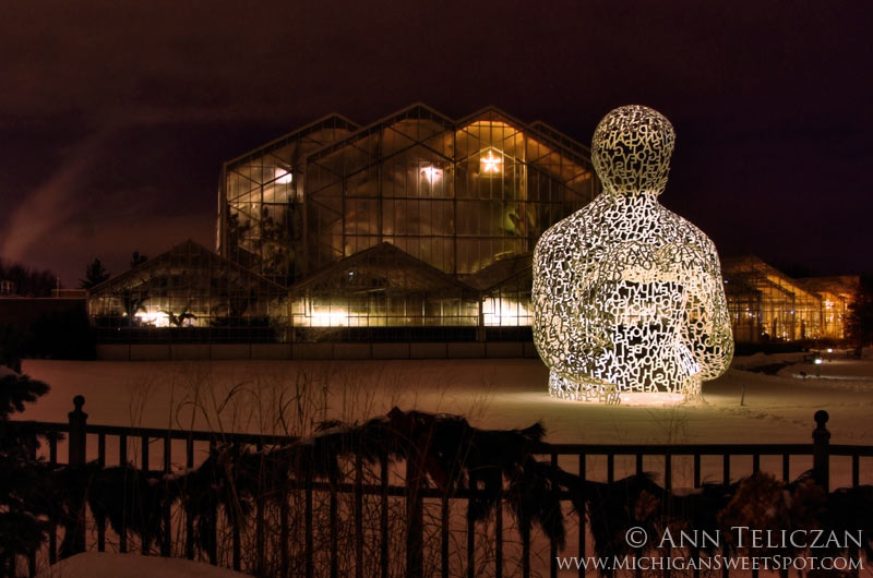 The Frederik Meijer Gardens at Christmas