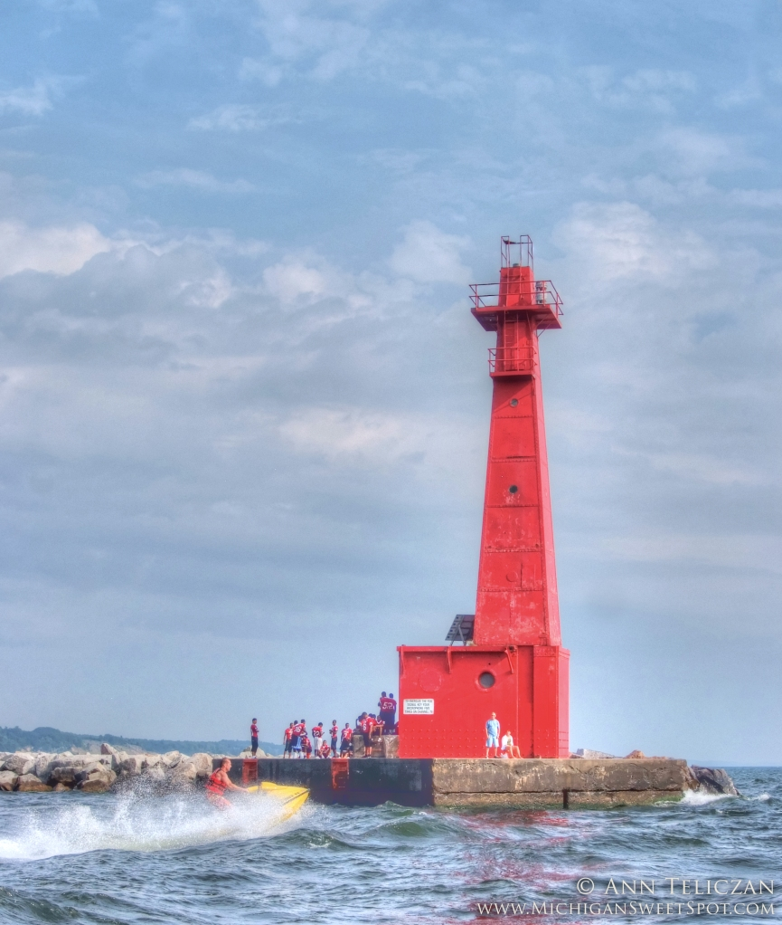 Awesome Red Lighthouse