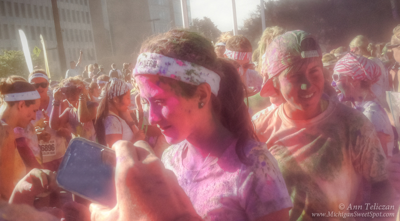Grand Rapids Color Run, Fun and More Fun